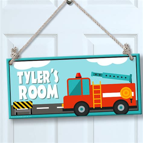 truck room decor personalized sign for wall door truck theme room decor myuala