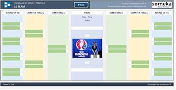 16 team bracket template tournament bracket free excel template for 8 team and 16