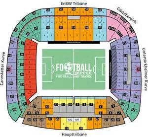 Mercedes Stadium Seating Chart Mercedes Arena Vfb Stuttgart Guide Football Tripper