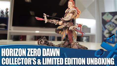 horizon zero dawn collector s limited edition unboxing youtube