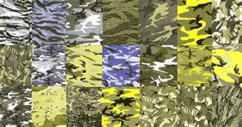 different types of military camouflage patterns daily members articles k9 color vision