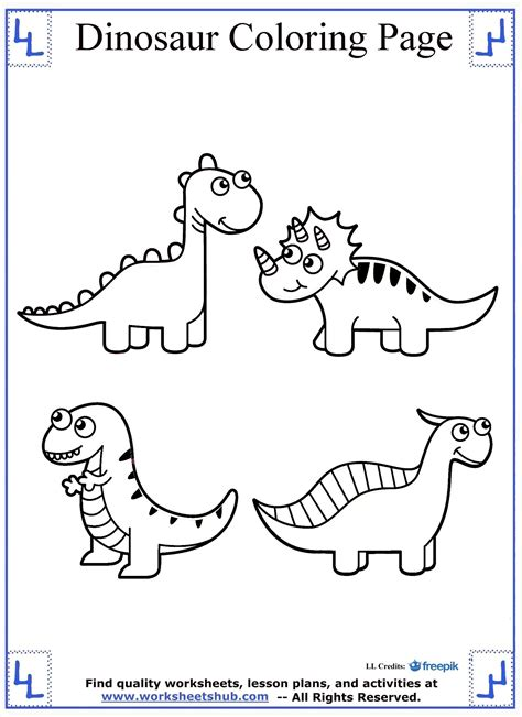 coloring pages of dinosaurs dinosaur coloring pages