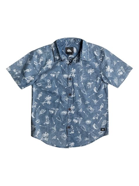 doodle shirts boys 8 16 doodle shirt aqbwt03001 quiksilver