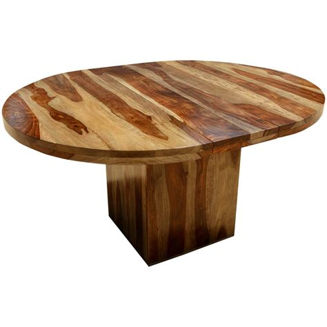 Solid Wood Extension Dining Table Circle On The Square Solid Wood Dining Table W Extension