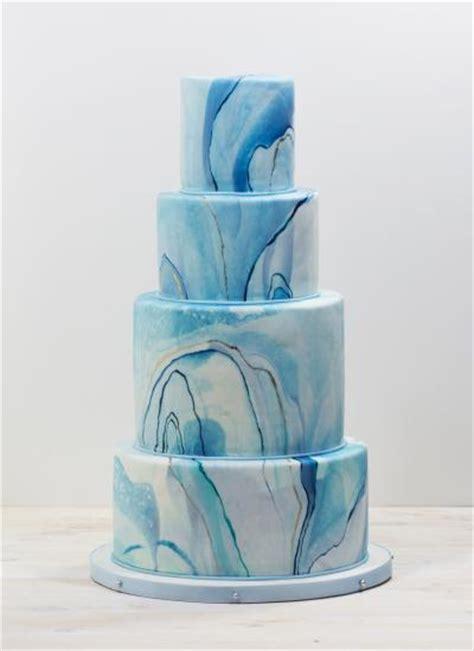 whipped bakeshop blue marble wedding cake