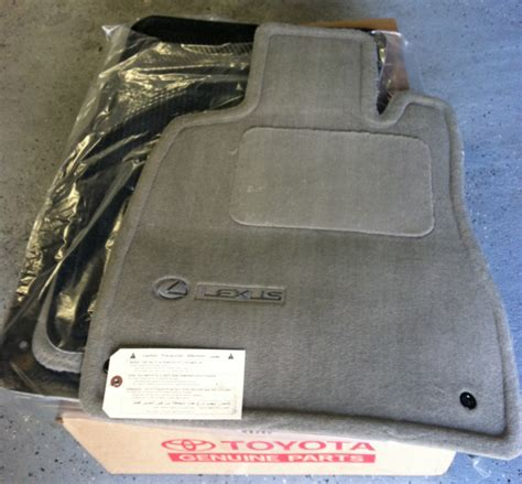 ls 430 floor mat set deal page 6 club lexus forums