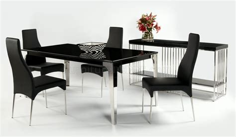 black marble top modern dining table w optional side chairs