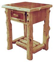 one drawer night stand plans constructing log furniture plans log night stands plans