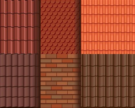 roof pattern vector roof tile seamless pattern wallpaper download free