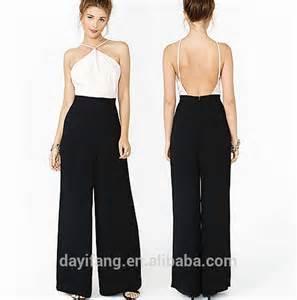 avondkleding broekpak dames eenvoudig en onge 235 venaarde