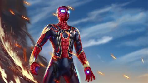 iron spiderman avengers infiniy war laptop full