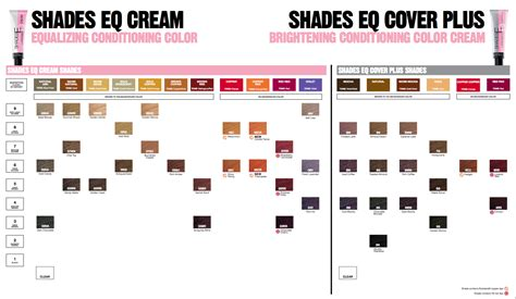redken shades eq color chart pictures to pin on pinsdaddy redken color fusion chart search hair color redken hair color