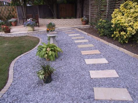 an english garden is cozy with a gravel road look paving stones fit perfectly to the japanese