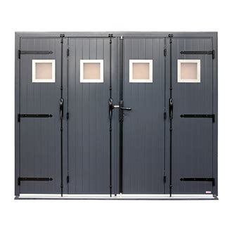Porte De Garage Aluminium 4 Vantaux 4157 by Porte Garage 4 Vantaux En Aluminium Icare Par Sothoferm