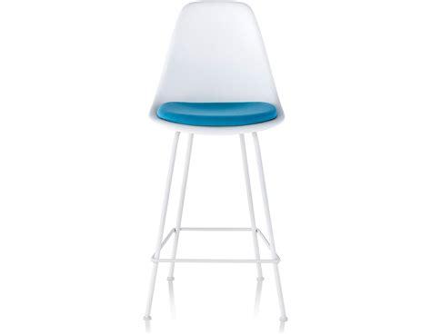 eames molded plastic stool  seat pad hivemoderncom