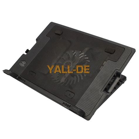 Cooling Pad Murago Mcp19 1fan 9 17 quot laptop pc 2 usb cooling powerf 1 fan cooler adjustable stand pad black de ebay