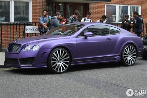 purple bentley bentley mansory continental gt speed 2 juni 2014