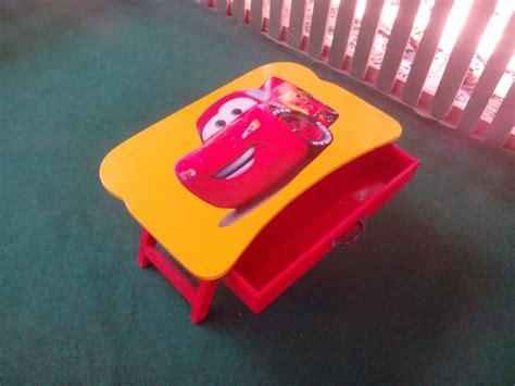 Meja Belajar Lipat Anak Seri Cars Mcqueen meja lipat harga meja lipat jual meja lipat murah meja lipat laci