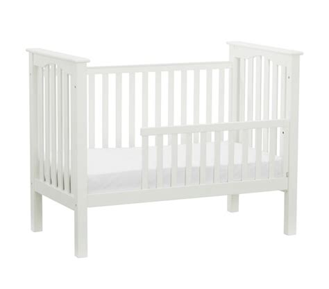 Converting A Crib To A Toddler Bed Kendall Toddler Bed Conversion Kit Pottery Barn