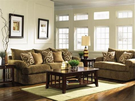 Nice Living Room With Brown Sofa Designs New Home Scenery Brown Sofa Decorating Living Room Ideas