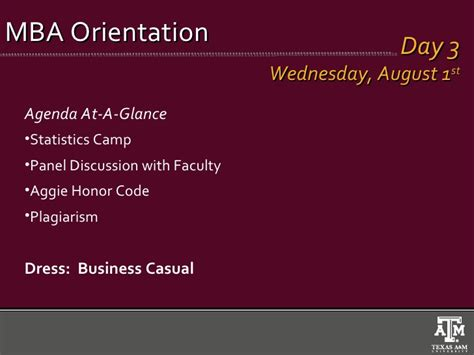 Baml Summer Mba Orientation Forum by Monday Meeting July 2012
