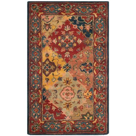 safavieh heritage accent rug in red multi hg926a 2 safavieh heritage multi red 9 ft x 12 ft area rug hg512b