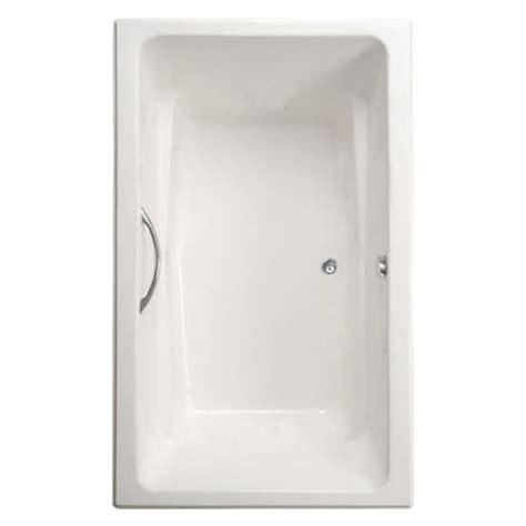 mansfield bathtub mansfield barrett 66 quot x 42 quot x 24 quot rectangular bathtub at