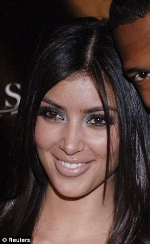 kim kardashian looks very different as a 10 year old in kim kardashian s changing face examined by femail daily