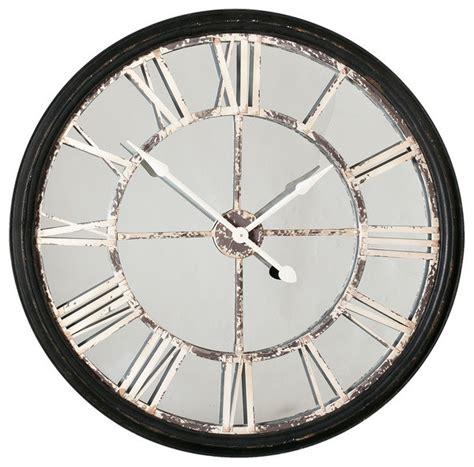 echo wall clock transitional clocks by urban barn