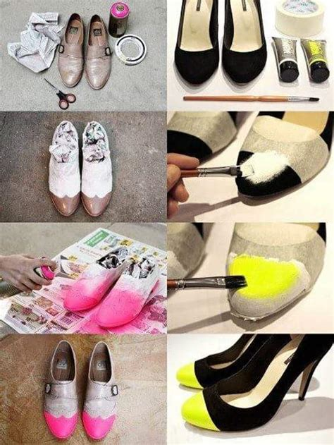 diy shoe decoration 45 smart diy shoe makeover ideas to make them all anew