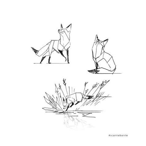 tattoo minimalist fox 25 best ideas about geometric fox on pinterest fox