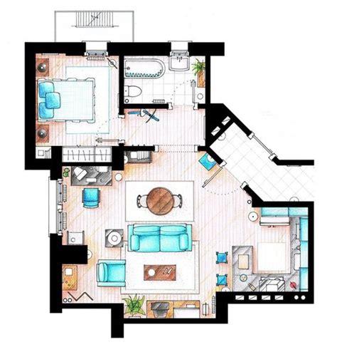 tv apartment floor plans jerry seinfeld s apt floor plan techlovedesign com