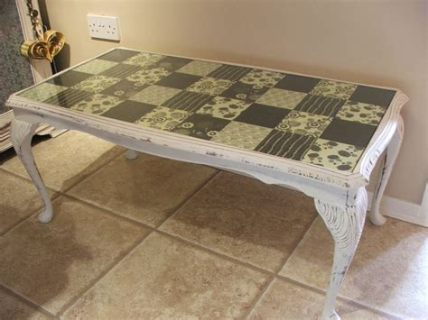 upcycled coffee table crafties