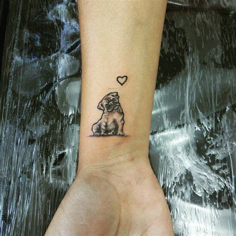 pug tattoos 23 loveable pug tattoos sortra