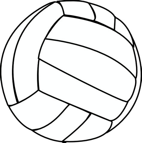 free printable volleyball tags volleyball thin clip art at clker com vector clip art