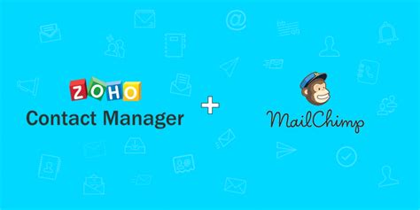 new zoho integration with mailchimp lets you send