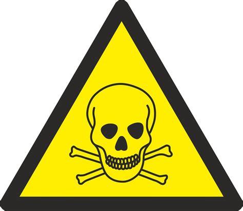 Stoff Aufkleber Buchstaben by Aufkleber Warnung Vor Giftigen Stoffen W016