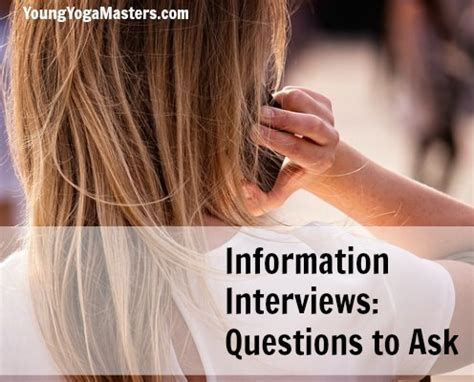 the informational interview researching a career youtube