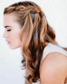 frisuren lange haare wasserfall 113 ideen f 252 r flechtfrisuren simpel effektvoll feminin