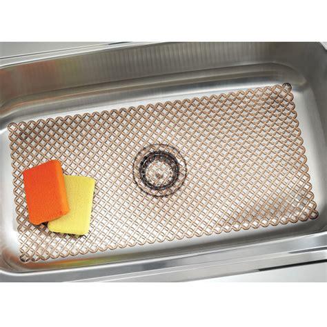 farmhouse sink mat mdesign plastic kitchen farmhouse sink protector mat x