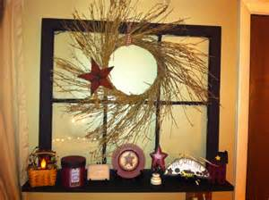 diy primitive home decor my diy primitive window so easy primitive decor pinterest