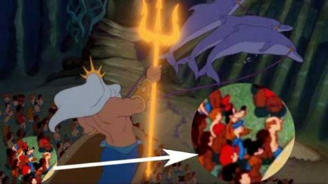 the hidden layers of disneys movie enchanted 2 hidden images and messages in disney s quot the little mermaid