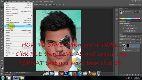 tutorial photoshop robot half human and half robot face effect on photoshop