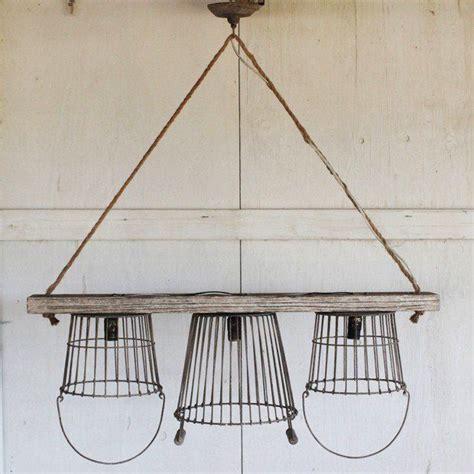 Wire Basket Chandelier Best 25 Wire Basket Chandelier Ideas On Diy Light Fixtures Basket Lighting And