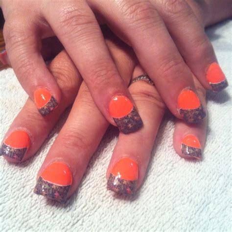 Camo Acrylic Nail Designs