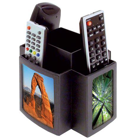 tv remote holder organiser revolving rotating