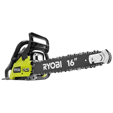 ryobi 16 in 37cc 2 cycle gas chainsaw with heavy duty