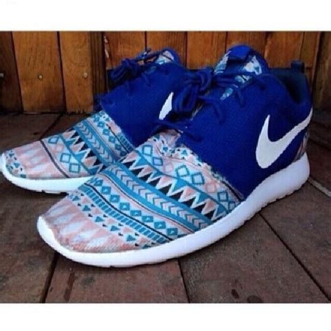 colorful nike running shoes shoes nike roshe run nike roshe run pattern colorful