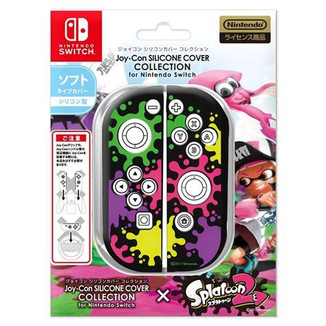 Dijamin Nintendo Switch Accessory Set Splatoon 2 Edition splatoon 2 various nintendo switch accessories releasing alongside the in japan