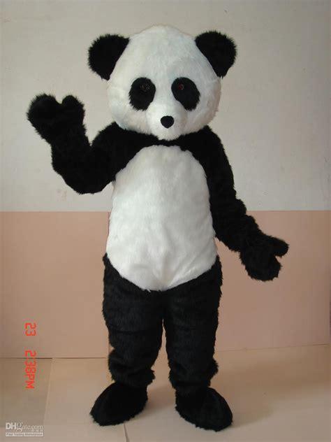 Annica Boy Set Panda Green unisex mascot costumes professional panda